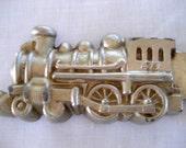 Vintage Pewter Train Ice Cream Mold     Circa 1930s    Model 440