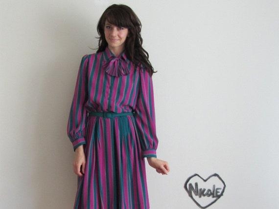 unicorn secretary dress . 3 piece teal purple outfit .medium.large .sale