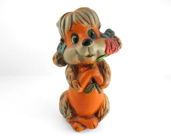 Vintage 1969 Dog Money Bank