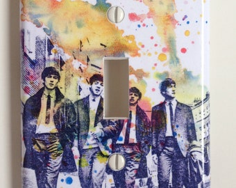 The Beatles Decorative Light Switch Plate Cover
