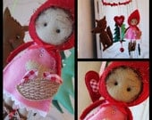 SALE priced Nursery mobile Little Red Riding Hood