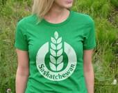 Saskatchewan tshirt (Green)