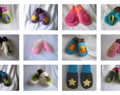 Made to Order Fleece Baby and Child Mittens
