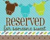 Reserved for Megan--Muppets Tie and Suspenders Onesie & matching burp cloth