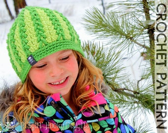 CROCHET PATTERN - Braided Beanie