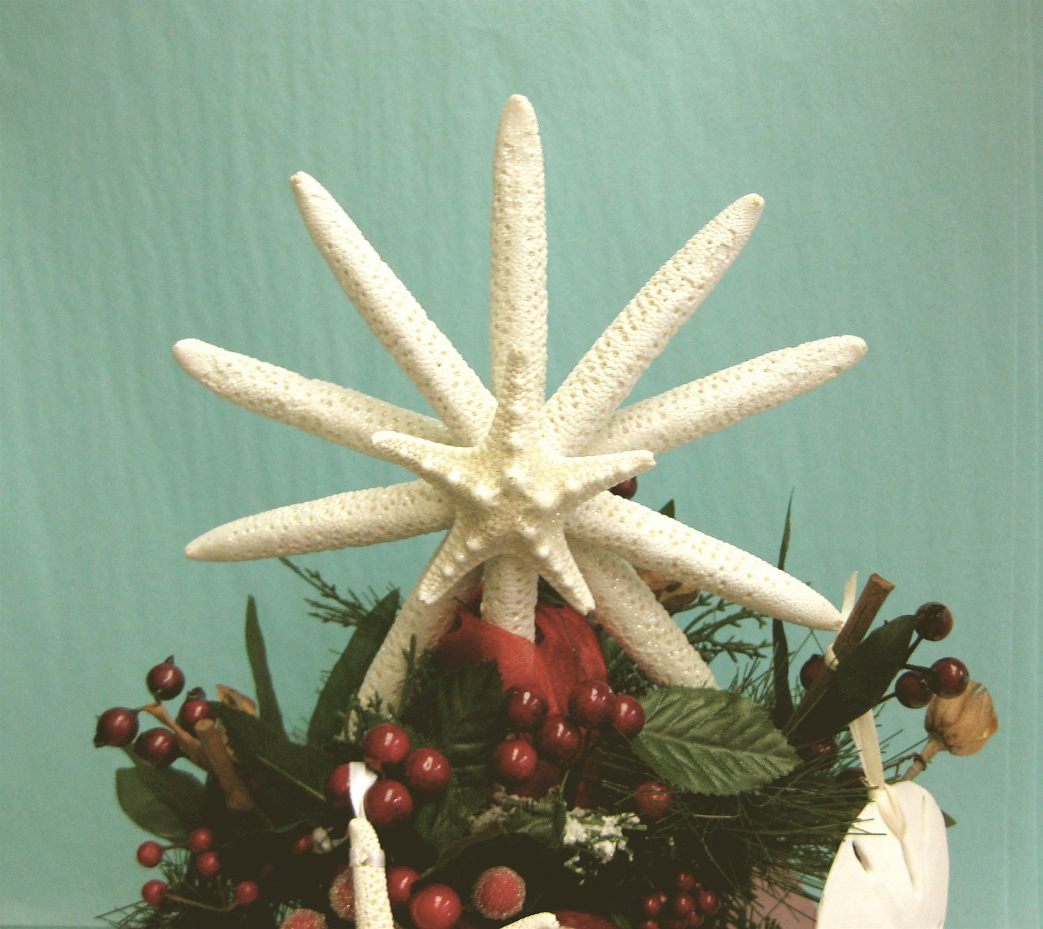 Starfish Tree Topper 7 8 available by SeashellCollection