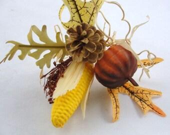 6 Fall wreath picks