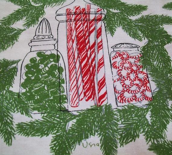 Sale Vintage Vera Christmas Tablecloth 3 Vintage By