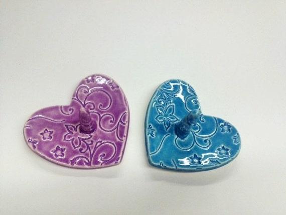 Purple Heart Ring Holder