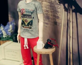 SD13 Boy Van Decal shirts Grey