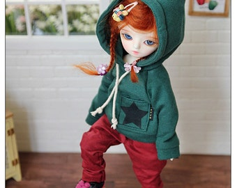 YOSD fairy hooded-T   - Green