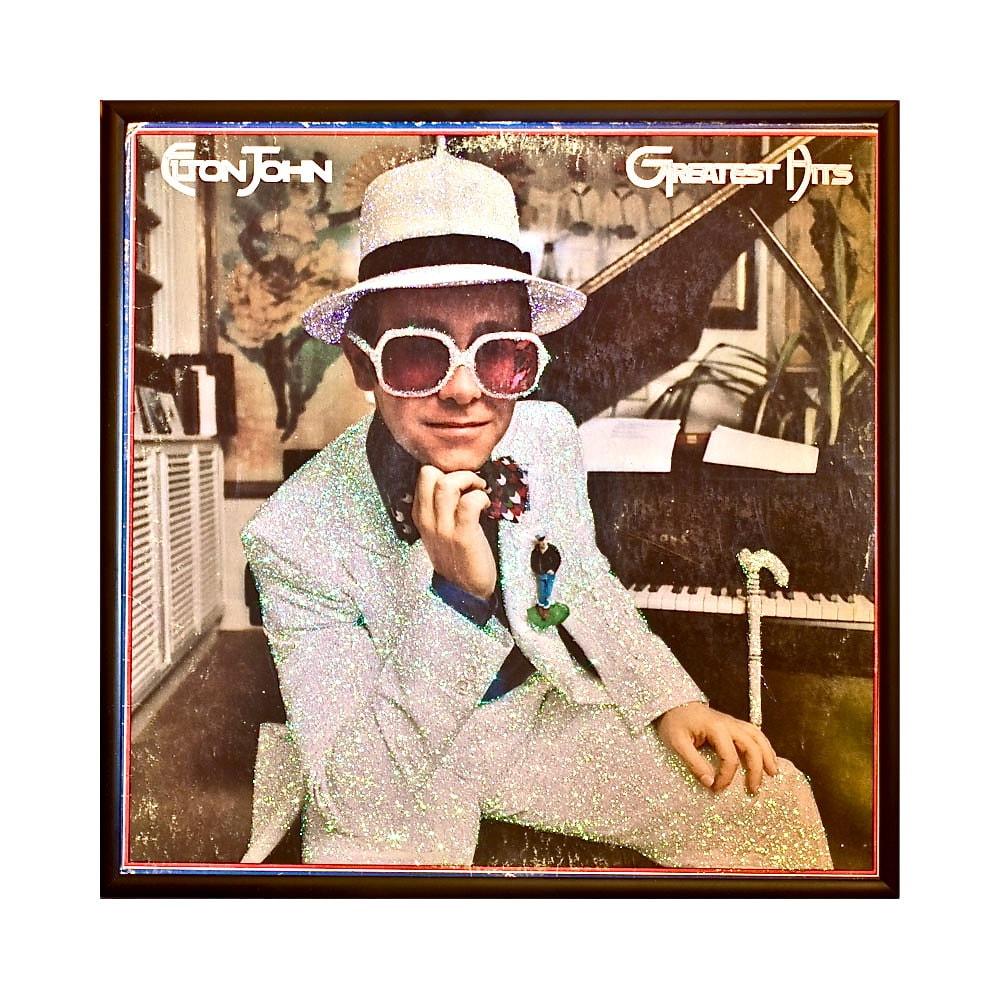 Glittered Elton John G...