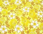 Vintage Sheet Fat Quarter- Autumn Floral