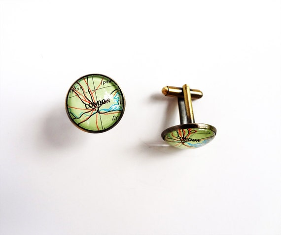 Shingay and Royston, Cambridge cufflinks for Emma