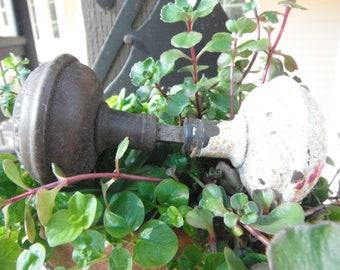 Vintage Pair of Brass Doorknobs