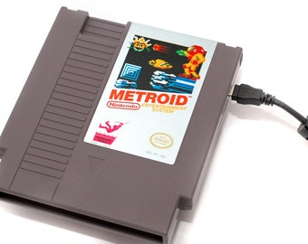 NES Hard Drive - Metroid  USB 3.0
