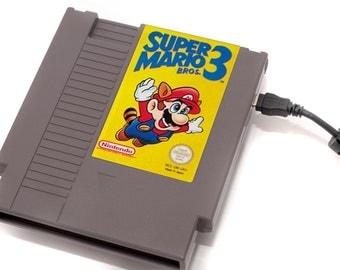 NES Hard Drive - Super Mario 3  USB 3.0
