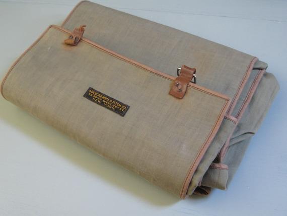 vintage Abercrombie & Fitch men's travel kit