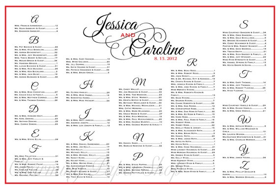 wedding round table seating chart template. Black Bedroom Furniture Sets. Home Design Ideas