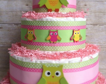 Sweet Dream Owl Cake