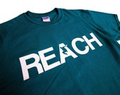 The REACH / ESCAPE Parkour T-Shirt - Deep Teal