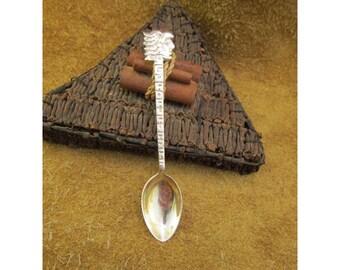 Guadalajara Mexico Sterling Souvenir Spoon - Vintage Sterling Silver Collector Demitasse Spoon - Mexican Souvenir