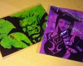 Juri and Blanka Postcard Set
