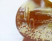 Frankoma Pottery Desert Gold Southwestern Style Cactus Vase