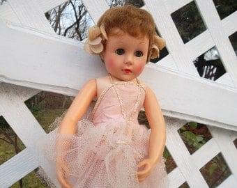 Vintage Gigi Style Ballerina Doll