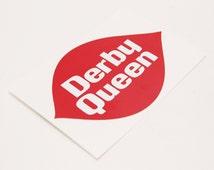 Roller Derby Queen Sticker