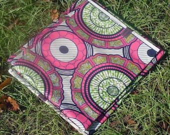 African Wax Cotton Print Fabric - Ankara Fabric - Kameli Shae