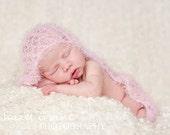 KNITTING PATTERN baby wrap - newborn photography props - 'open lace wrap'