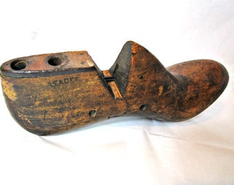 Old Shoe Form Industrial Shoe Form Size Eight And A Half B