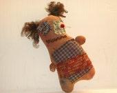 Primitive handmade Doll - Elenora