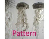 Jellyfish Ornament Amigurumi Crochet Pattern