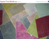 Christmas Sale 40% OFF Ayrloom Smalls  Hand Dyed Cross Stitch Fabric 9x14 Aida Assorted Counts and Colours