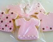 Baby Dress Mini Cookies- 2 Dozen