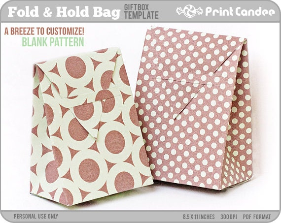 Lively image for printable gift bags