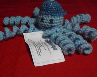 Crocheted  Mini Octopus's