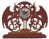 Time Guardians Dragon Mantle Clock