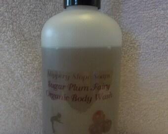 Sugar Plum Fairy Organic Body Wash - 8oz.