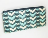 Long Pencil Pouch WHALES TAIL
