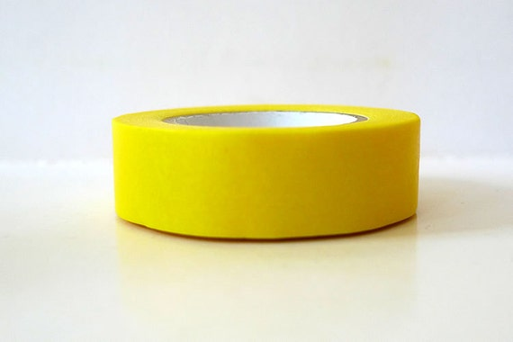 Solid Bright Yellow Washi Tape Japanese - 15mmx12m