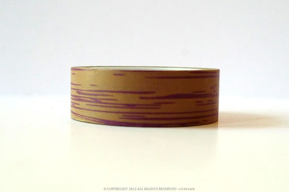 woodgrain washi tape wood grain tape dark brown chugoku from prettytape on etsy studio. Black Bedroom Furniture Sets. Home Design Ideas
