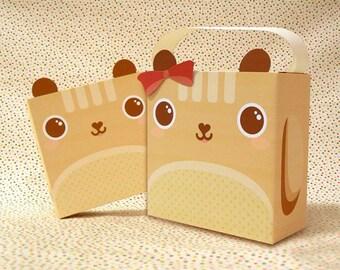 Cute Squirrel Gift box