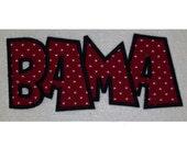 Instant Download Bama Embroidery Machine Applique Design Design 2099