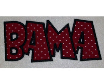 Instant Download Bama Embroidery Machine Applique Design Design 2099