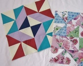 Pre-Cut Quilt Block of the Month in Your Choice of 100% Cotton Fabrics - BOM - 3