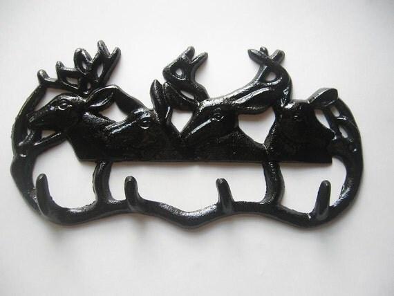 Cast Iron Deer Wall Hanger / Hook