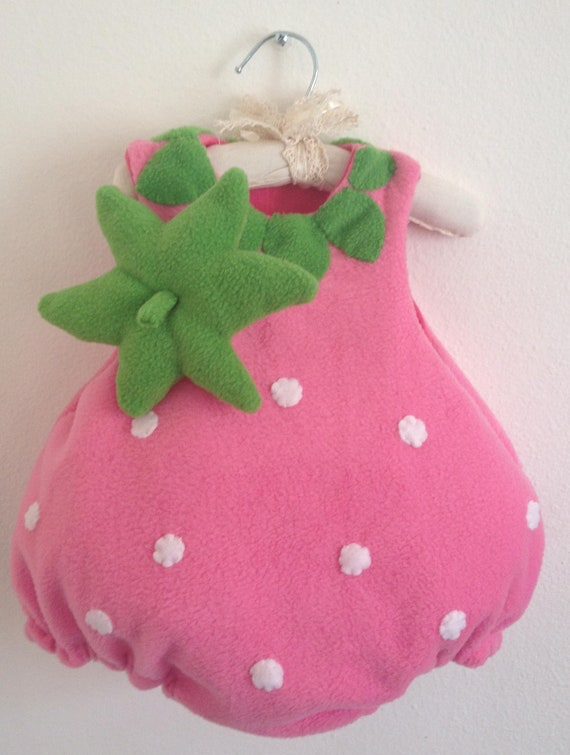 NEW Party Costume - Sweet Strawberry in Pink - Now available